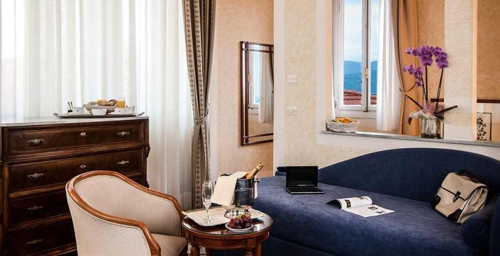 Suite Puccini Grand Hotel Royal Viareggio 4-star