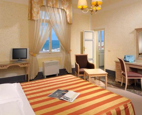 Seaview Room Grand Hotel Royal Viareggio 4 star