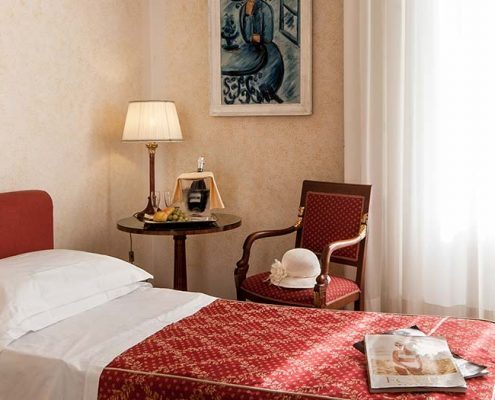 Single Room - Grand Hotel Royal Viareggio 4 star